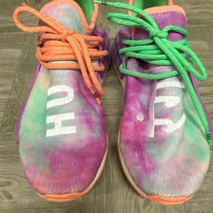 Adidas Pharrell NMD Holi Festival sneakers tie dye